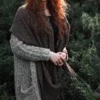 コート ウール素材の軽アウターを気軽に羽織る季節♪